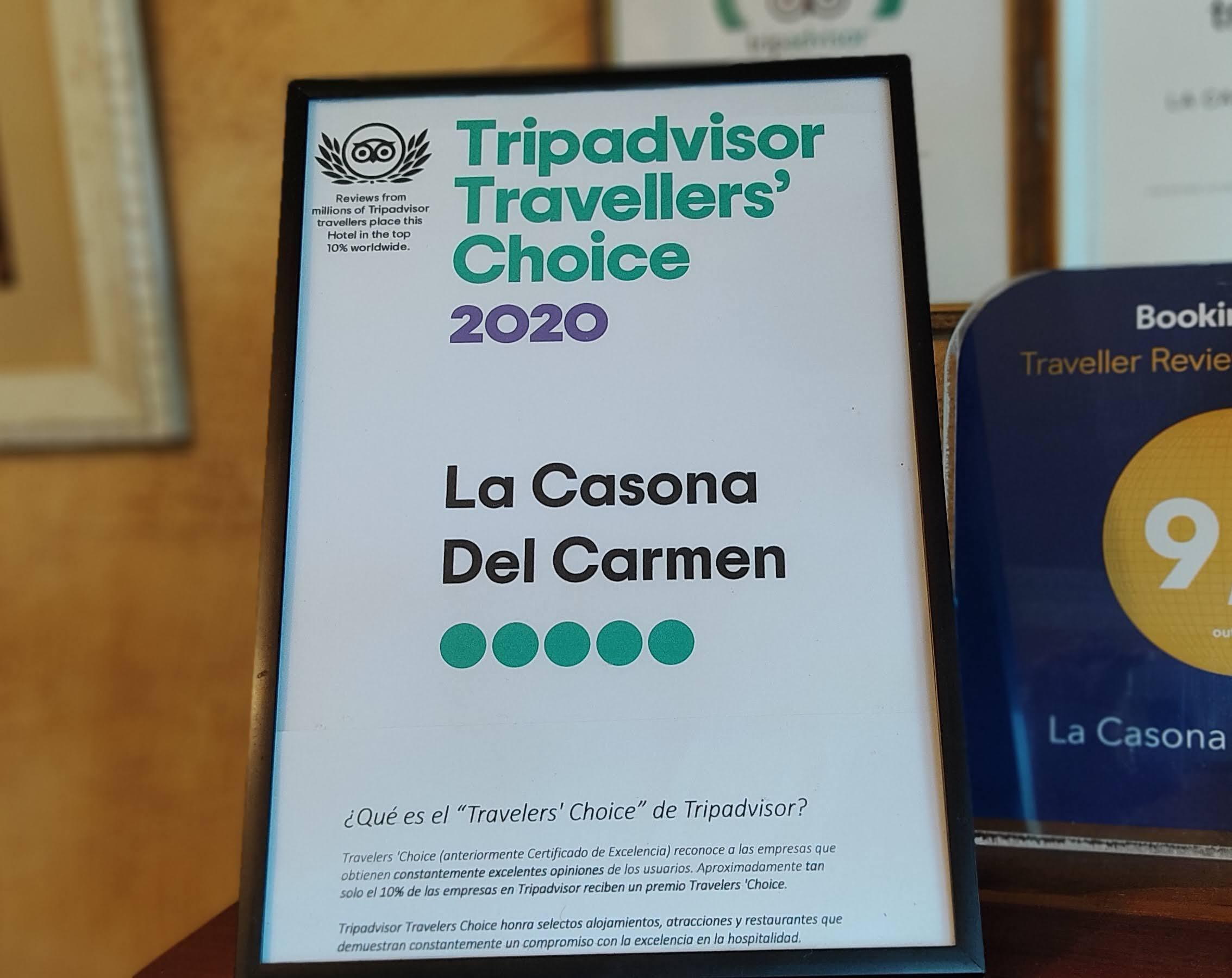 Tripadvisor Travellers Choice 2020 Apartamentos rurales Noja Cantabria